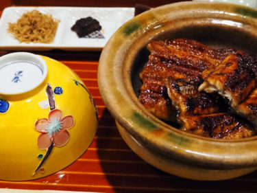 土釜で炊き立てご飯と炭火焼きの鰻・大國屋鰻兵衛