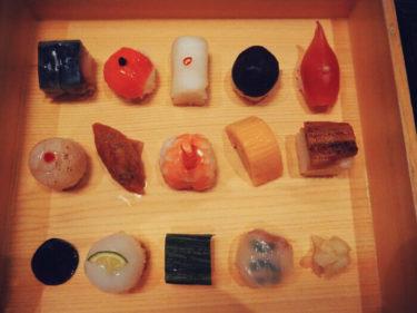 カラフルで可愛い豆すし・祇園「豆寅」