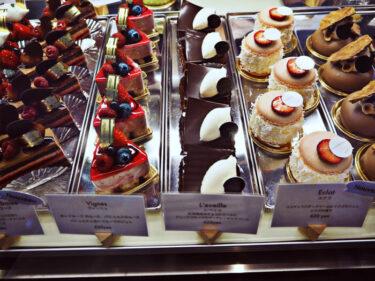 見た目も美しく美味しいケーキ・烏丸御池「グランヴァニーユ」