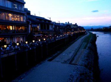 夏の風物詩 京都の川床