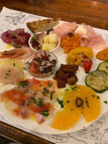 京都でシチリア料理★ 四条烏丸「リカータ」