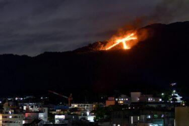 五山の送り火 2021年